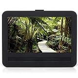 APEMAN APEMAN 7'-7.5' Car Headrest Mount Holder Strap Case for APEMAN Portable DVD Players with Swivel & Flip Screen Oxford Fabric Black