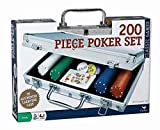 Cardinal Industries Poker Set in Aluminum Case is a classic game for hours of fun. Includes 200 dual-toned poker chip and one deck of poker cards plus dealer chips. It is housed in a beautiful and sturdy aluminum case. A take anywhere set for the pok...