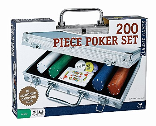 Cardinal Industries 200 pc Poker Set In Aluminum Case (Styles Will Vary) by Cardinal Industries