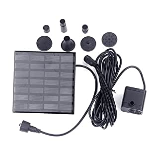 Amazon Com Solar Water Pump Kit Glamouric Water