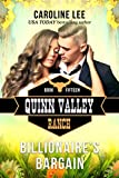 Billionaire's Bargain (Quinn Valley Ranch Book 15)