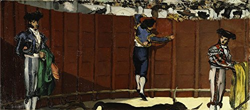 oil-painting-edouard-manet-the-bullfight-1864-printing-on-perfect-effect-canvas-24x54-inch-61x138-cm