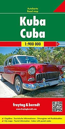 Freytag Berndt Autokarten, Kuba - Maßstab 1:900.000 (freytag & berndt Auto + Freizeitkarten)