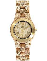 WeWood Criss Metal/Henne Maple Wood Watch | Beige/Gold