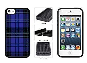 Blue of And Black Lumberjack Plaid Dual Layer Phone Case Back Cover fevers Apple iPhone disorders iphone 5s natural
