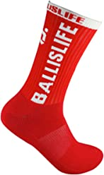 Ballislife Red/White Elite Socks (1 Pair)
