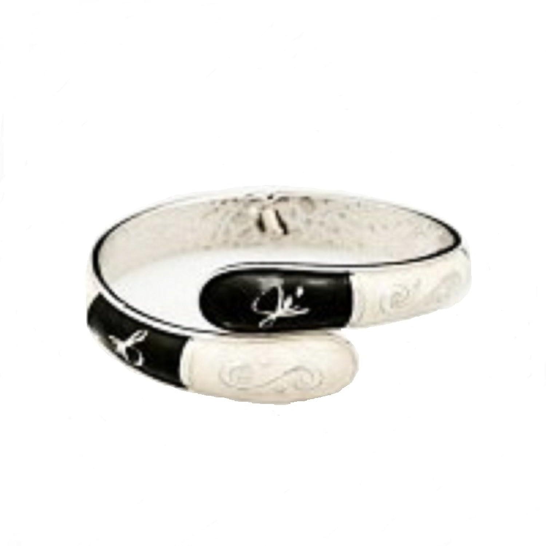 Fumi Bracelet and Purse Hook Black & Winter White