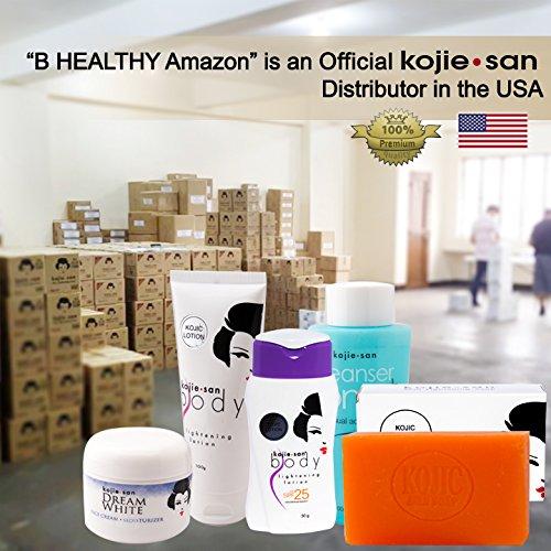 50 Kojie San Skin Lightening Kojic Acid Soaps - 2 Bars per Package - 65g Each Bar by Kojie San (Image #1)