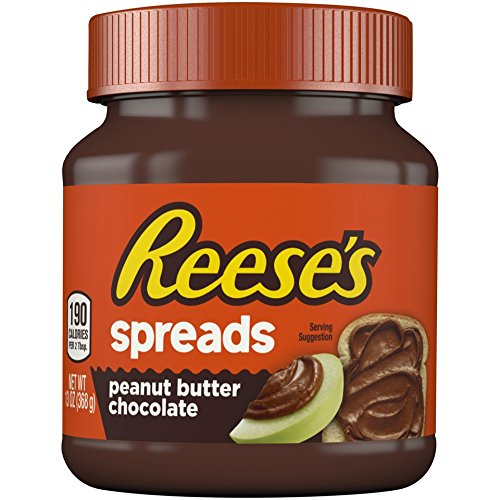 Chocolate Peanut Crackers - Reese's Spreads Peanut Butter Chocolate Jar, 13oz
