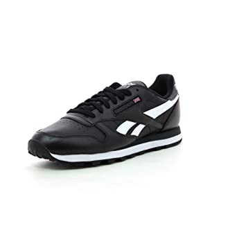 7070551dbf5 Reebok Classic Leather Pop SC Black Size  6  Amazon.co.uk  Shoes   Bags