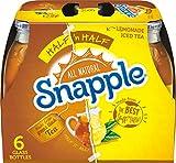 Snapple Half 'n Half, 16 fl oz glass bottles, 6 count