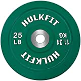 HulkFit Color Coded Olympic 2-Inch Rubber Bumper