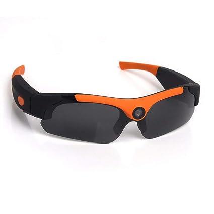 OOLIFENG Mini Gafas De Cámara Real Full HD 1080P Vidrios Ocultos Espía con Videocámara DV Grabadora