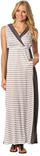 product image for Majamas The Weekend Hooded Maternity Nursing Maxi Dress