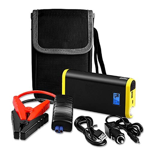 BOHENG Car Battery Starter, 9000Mah, 500A Vehicle Emergency Battery, 12V External Car Battery Booster, with LCD Display, Flashlight,A: Amazon.co.uk: Sports & Outdoors