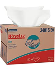 Save on Wypall X60 Reusable Wipers (34015) in Brag Box, White, 180 Sheets/Box, 1 Box/Case