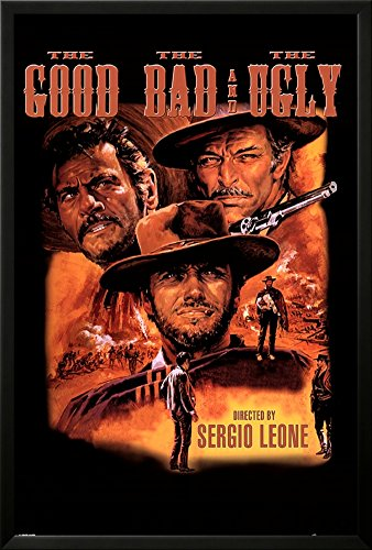 Professionally Framed The Good, The Bad, & The Ugly Movie  P