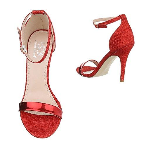 Ital Design Plataforma Ital Rojo Design Mujer rOPrTZnpq