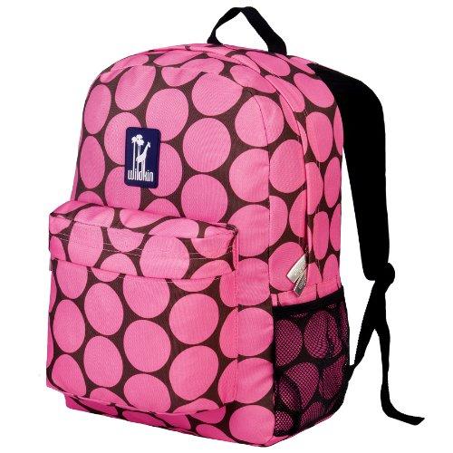 Pink Dots Backpack Big Crackerjack Wildkin qxIt7IR