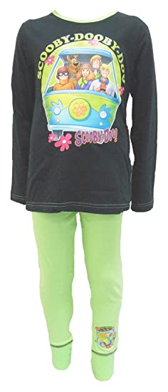 1ca54f8e4e Amazon.com  Scooby-Doo Mystery Machine Girls Pajamas 5-6 Years  Clothing