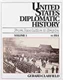 img - for 001: United States Diplomatic History: From Revolution To Empire, Vol. 1 To 1914 book / textbook / text book
