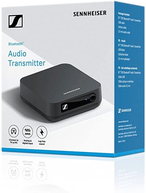 Sennheiser BT T100 Émetteur Audio Bluetooth Noir