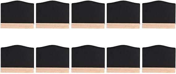 YIUS 10ピース/セットクリスマス装飾ミニディスプレイ黒板装飾ディスプレイ黒板飾りホームパーティーバーの装飾