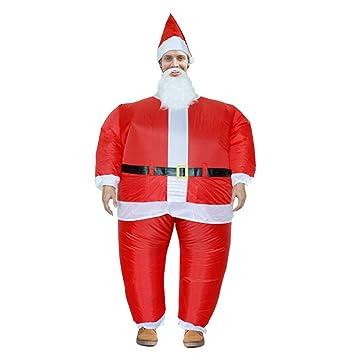 Amazon.com: GAOQQ - Disfraz de Papá Noel hinchable, para ...