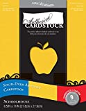 Core'dinations - 8.5 x 11 Adhesive Cardstock - Schoolhouse