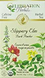 Celebration Herbals Slippery Elm Bark Powder Tea Organic Loose Pack, 40Gm