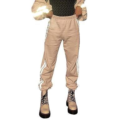 RYTEJFES Pantalones Mujer Pantalones De Yoga Retro Delgados Color ...