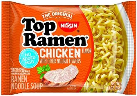 Asian Noodle Soup: Nissin Top Ramen