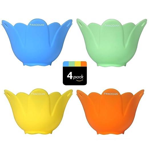 panodian silicona tazas utensilios de cocina microondas huevo ...