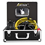 Sewer Pipe Inspection Camera, Anysun 30M/100ft