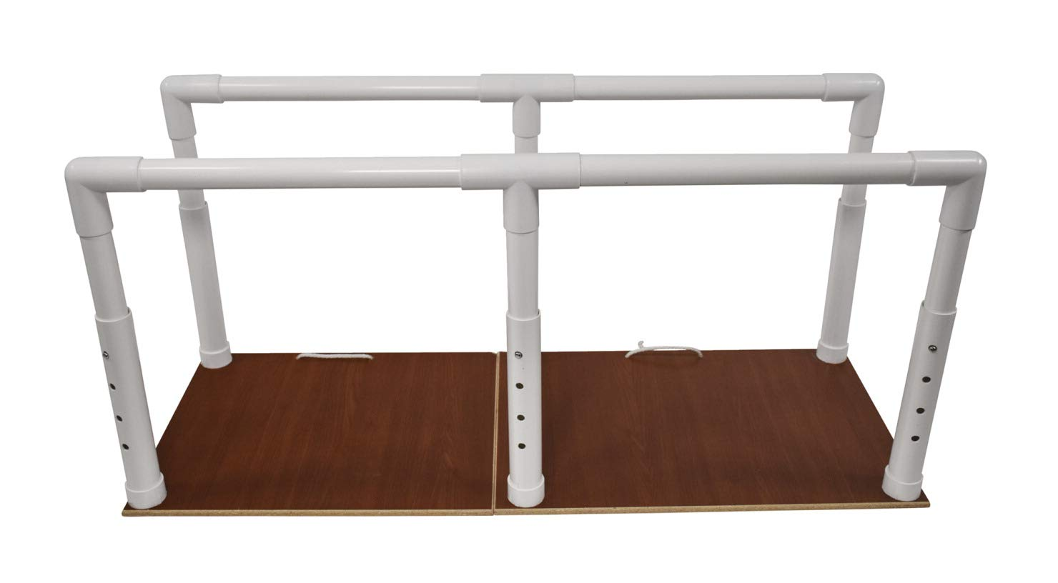 Abilitations My PortaBars Parallel Bars with Mesh Bag, Adjustable