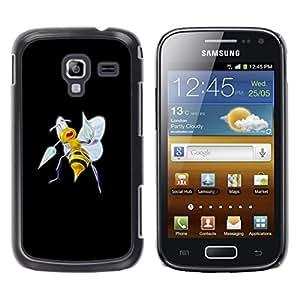 EJOY---Cubierta de la caja de protección la piel dura para el / Samsung Galaxy Ace 2 / --Meter Bee Monster