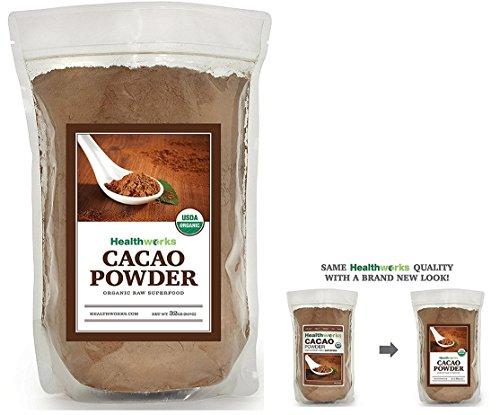 Healthworks Cacao Powder Raw Organic, 2 lb
