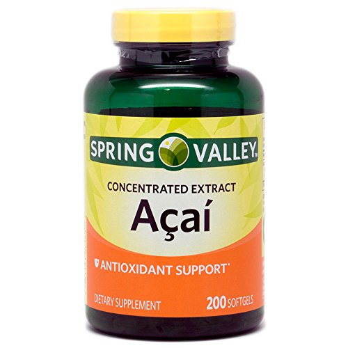 Spring Valley - Acai Concentrated Extract 200 Softgels Discount