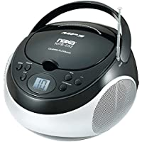 Naxa Portable Cd And Mp3 Player With Am And Fm Stereo (black)