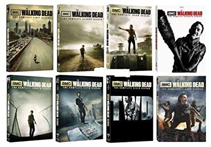 b71fe0db5d Amazon.com: The Walking Dead: Complete Series Seasons 1-8 DVD ...