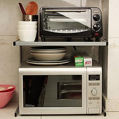 WENZHE Estantería Cocina Baldas Horno Microondas Condimento ...