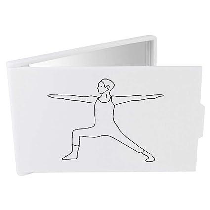 Azeeda Pose de Yoga Espejo Compacto / de Bolsillo ...