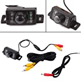 HDE Rear View License Plate Backup Camera Reverse Parking System Blind Spot Cam Review