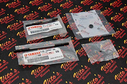 Vito's Performance New - OEM Yamaha Blaster Clutch Push Rod and Ball Adjuster Screw ()