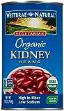Westbrae Organic Kidney Beans-25 oz