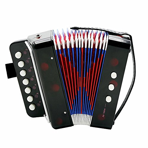Andoer Kids Children 7-Key 2 Bass Mini Small Accordion for sale  Delivered anywhere in USA