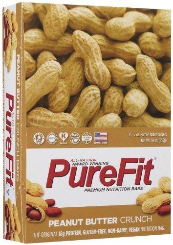PureFit Crunch Bars - Peanut Butter - 2 oz - 15 ct