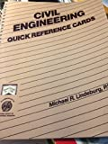Civil Engineering Quick Reference Cards, Michael R. Lindeburg, 0932276598