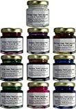 Permanent Glass Paint Lacquer Stain Kit, 10 Pack, 1.5-ounce Professional Stained Glass Finish
