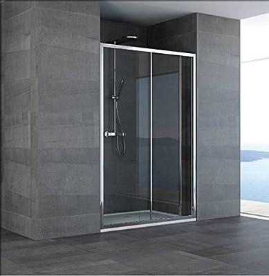 Mampara de baño de vidrio hueco diseño de nube-acrílico-plata ...